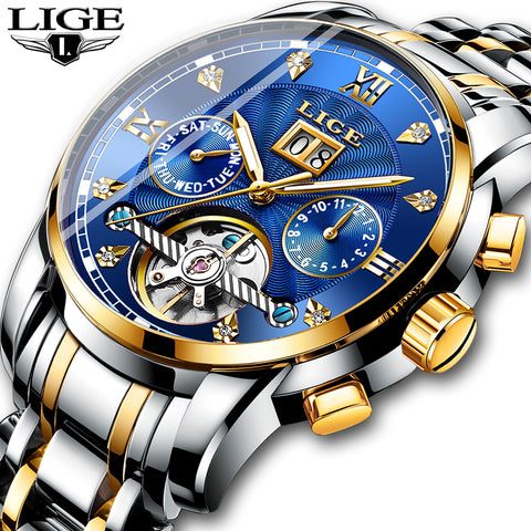 Luxury Automatic Mechanical Waterproof Watch-Sunshine's Boutique & Gifts