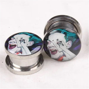New Punk Stainless steel Ear Gauge-Sunshine's Boutique & Gifts