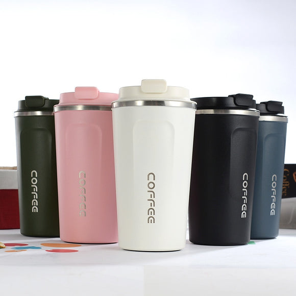 New Style Double Stainless steel 304 Coffee Thermos Mug Leak_Proof