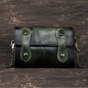 Genuine Leather Sling Cross Body Bag-Sunshine's Boutique & Gifts