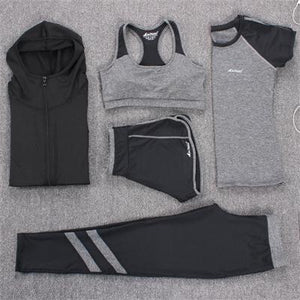New Yoga Tracksuit Sports Set-Sunshine's Boutique & Gifts