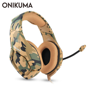 Camouflage Headset with Mic Stereo for Gaming-Sunshine's Boutique & Gifts
