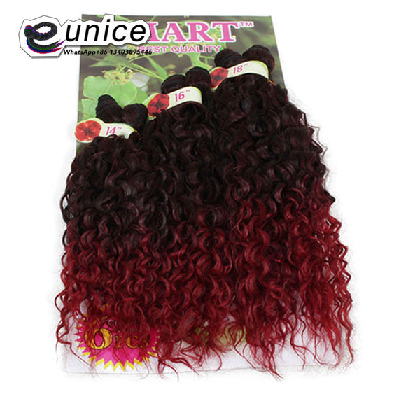 Ombre Synthetic Jerry Curl Two Tone 6PCS/lot-Sunshine's Boutique & Gifts