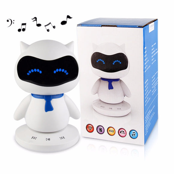 Mini Portable Cute Robot Smart Bluetooth Speaker-Sunshine's Boutique & Gifts