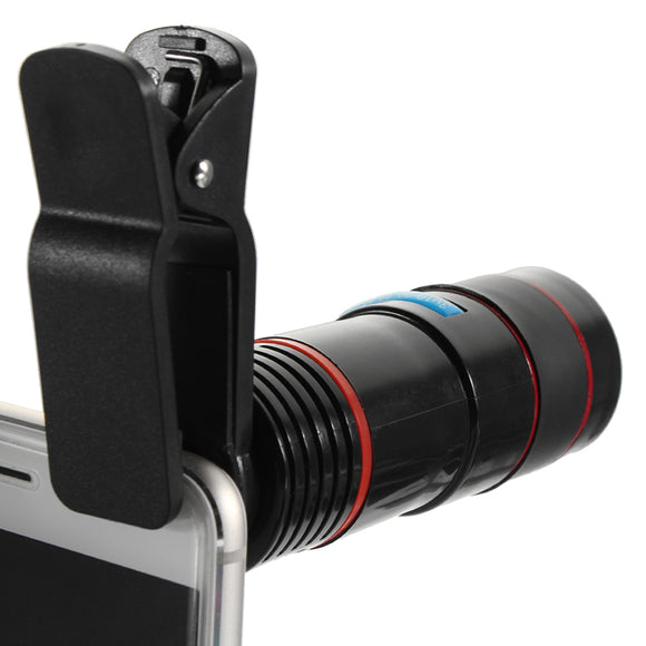 Optical 12X Zoom Lens Clip on-Sunshine's Boutique & Gifts