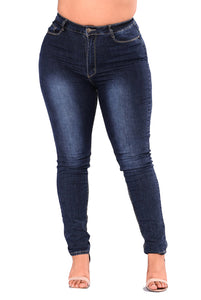 PLUS SIZE Jeans High Waist Skinny 2XL-7XL-Sunshine's Boutique & Gifts