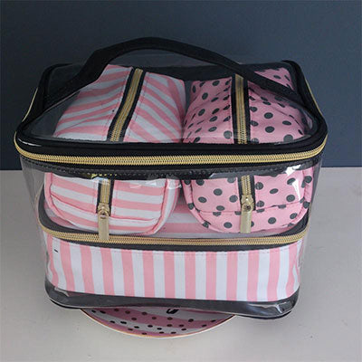 Transparent Cosmetic Bag Organizer-Sunshine's Boutique & Gifts