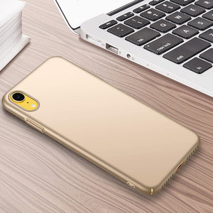 Shockproof PC Anti-fingerprint Comfort Button Case For iphone XS Max XR-Sunshine's Boutique & Gifts