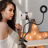Photo Studio Selfie LED Ring Light with Cell Phone Holder-Sunshine's Boutique & Gifts