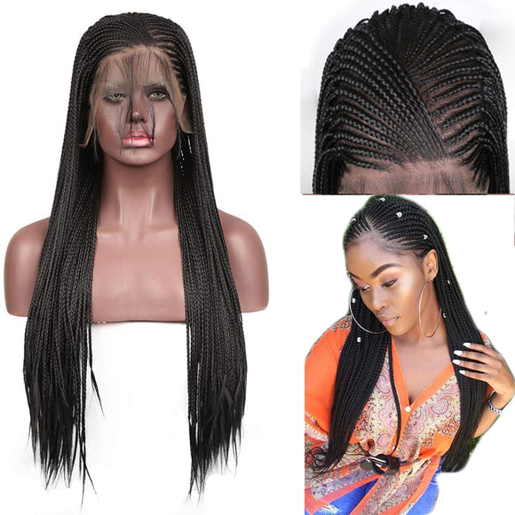 13x6 High Temperature Synthetic Lace Front Wig
