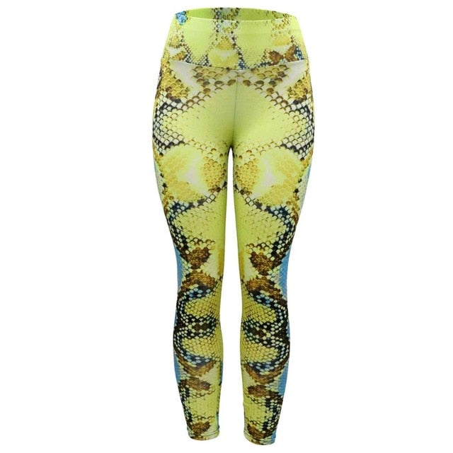 Fashion snake print tights-Sunshine's Boutique & Gifts