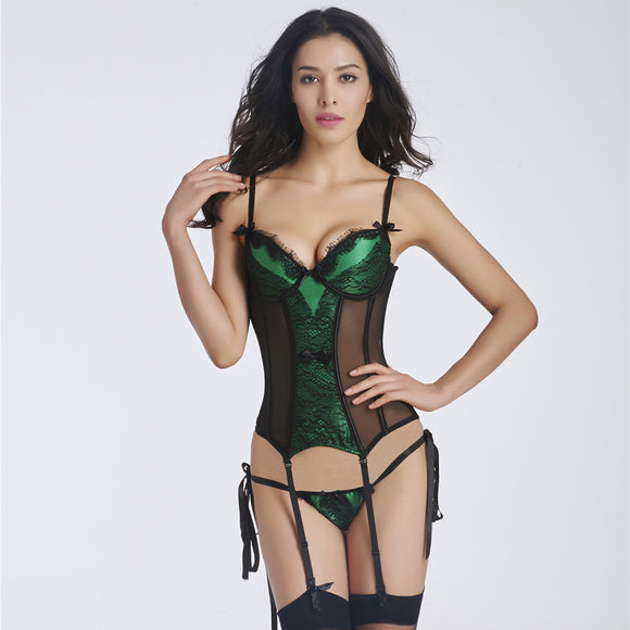 Sexy corset steampunk lingerie
