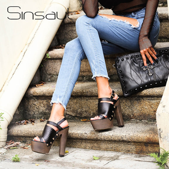 Women Platform Sandals-Sunshine's Boutique & Gifts