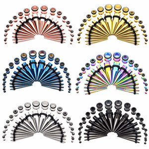 Stainless Steel Ear Taper Kit-Sunshine's Boutique & Gifts