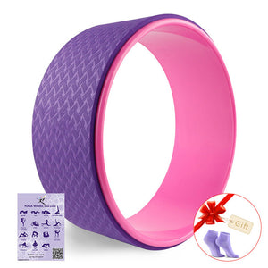 Strongest Most Comfortable Dharma Yoga Prop Wheel For Stretching-Sunshine's Boutique & Gifts
