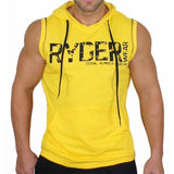 Bodybuilding Fitness Hooded Tank Top