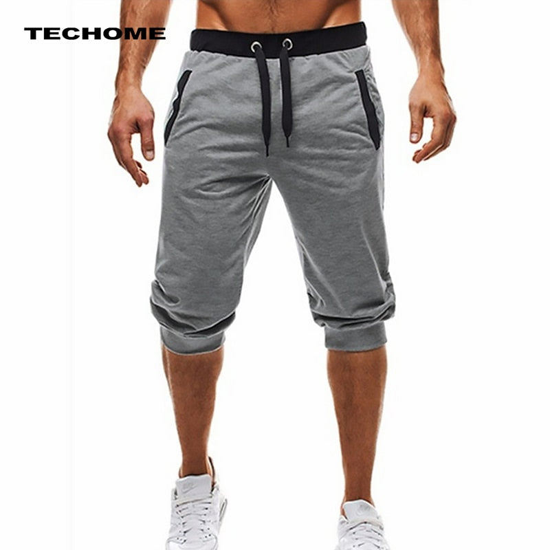 Summer men Leisure Knee Length Shorts-Sunshine's Boutique & Gifts