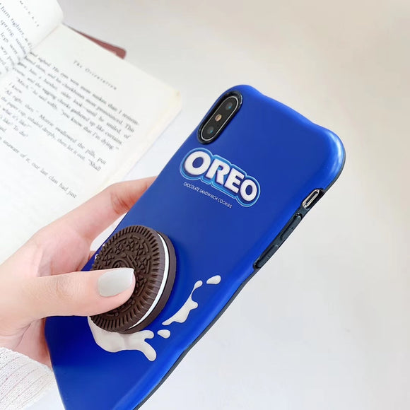 Super star Oreo Milk 3D Phone Case For iPhone