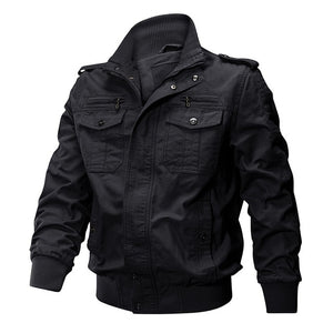 Men Winter Military Airsoft Bomber Jacket