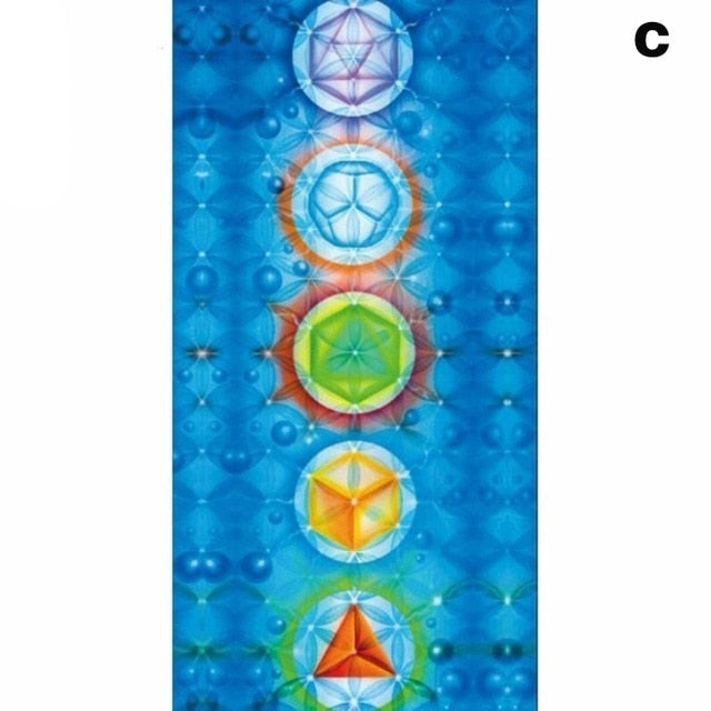 Tapestry Yoga Mat Scarf 150x75cm-Sunshine's Boutique & Gifts