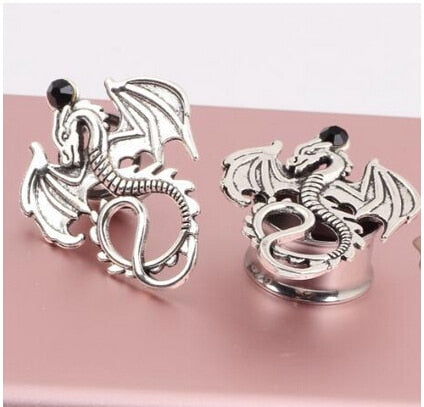 The Dragon Ear Plugs stainless steel-Sunshine's Boutique & Gifts