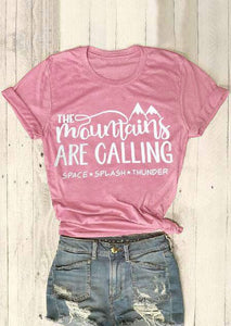 The Mountains Are Calling SPACE SPLASH THUNDER T-Shirt-Sunshine's Boutique & Gifts