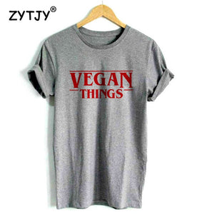 VEGAN THINGS tshirt-Sunshine's Boutique & Gifts