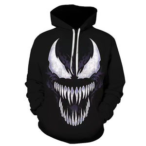 Venom Hoodies 3D Sweatshirts-Sunshine's Boutique & Gifts