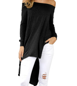 Winter Asymmetrical Tunic-Sunshine's Boutique & Gifts
