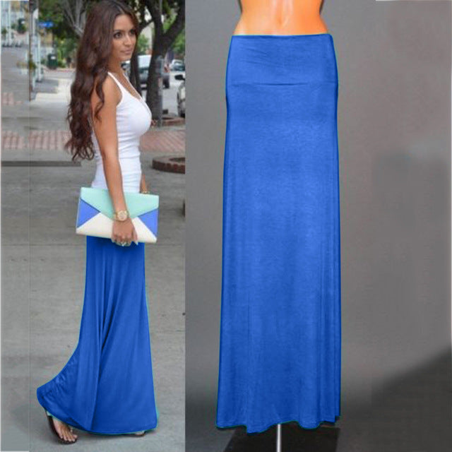 Women Summer Sexy Long Maxi Skirt-Sunshine's Boutique & Gifts