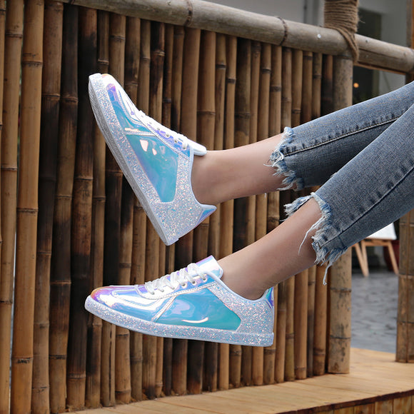 Women Bling Sneakers