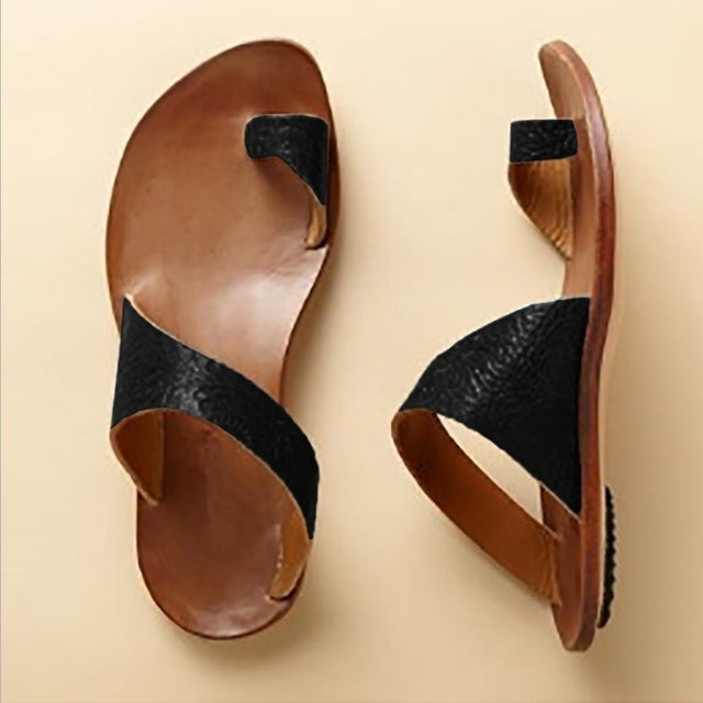 Women Handmade Soft Leather Sandals-Sunshine's Boutique & Gifts