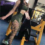 Women s Camouflage Patchwork Leggings