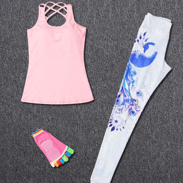 Women Sport Yoga Fitness Sets-Sunshine's Boutique & Gifts