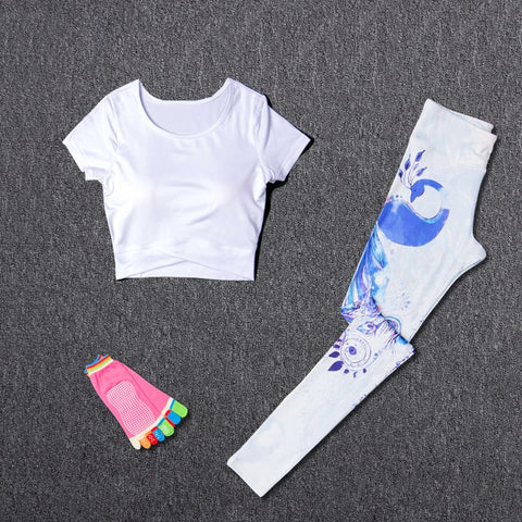 Women Sport  Yoga Fitness Sets