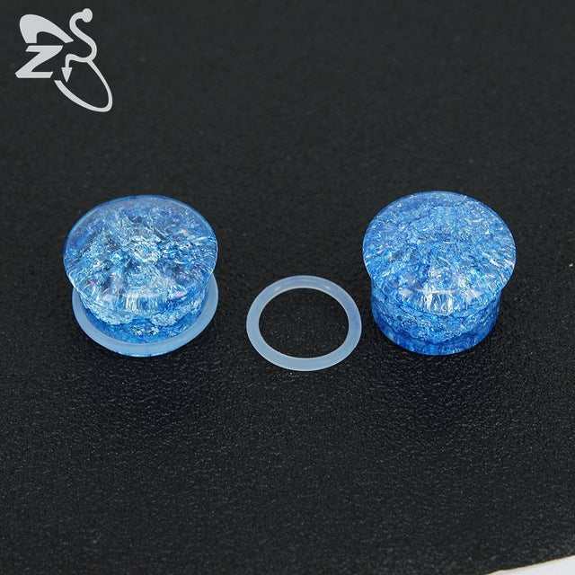 Burst Stone Ear Plugs-Sunshine's Boutique & Gifts