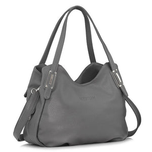 FoxTail & Lily Genuine Leather Handbag-Shoulder Bags-Sunshine's Boutique & Gifts