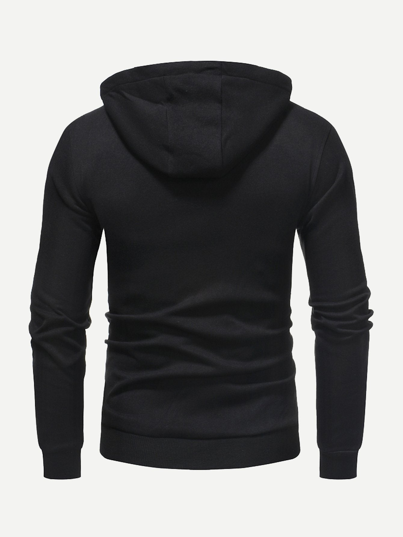 Men Solid Hooded Sweatshirt-Sunshine's Boutique & Gifts