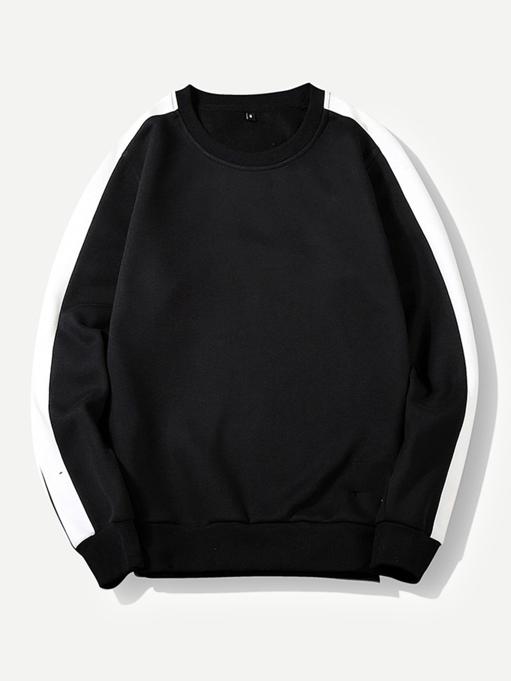 Men Cut And Sew Panel Sweatshirt-Sunshine's Boutique & Gifts