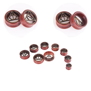 Wood tunnels ear plugs big gauge piercing expander wood 8mm - 20mm-Sunshine's Boutique & Gifts