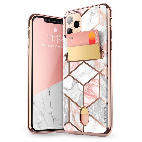 i-Blason iPhone 11 Pro Case 5.8 inch (2019 Release) Cosmo Wallet Slim