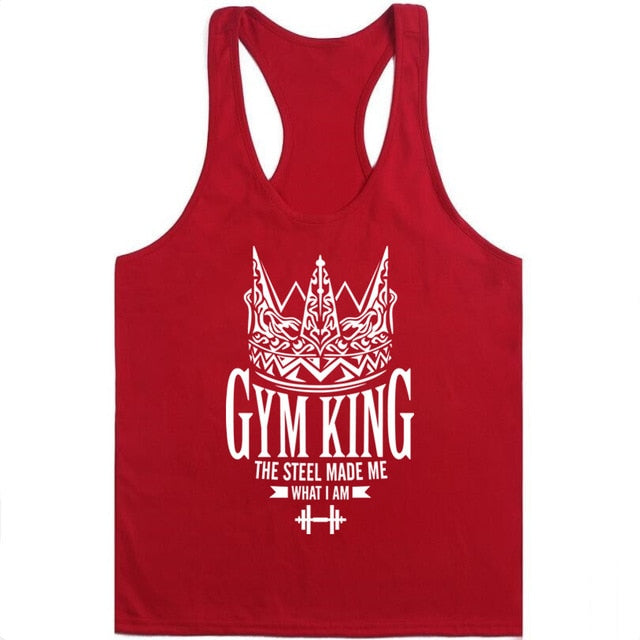 Men Bodybuilding Stringer Muscle Shirt-Sunshine's Boutique & Gifts