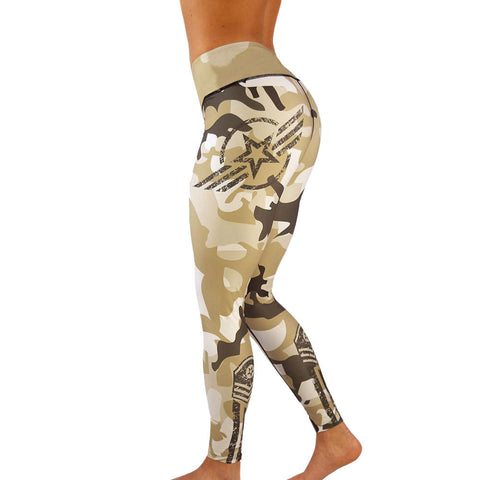 Women High Waist Yoga Fitness Leggings-Sunshine's Boutique & Gifts