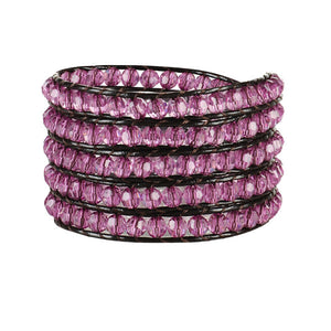 Pink Kitty Wrap Bracelet-Sunshine's Boutique & Gifts