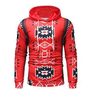 Fashion Street Style Print Hoodie-Sunshine's Boutique & Gifts