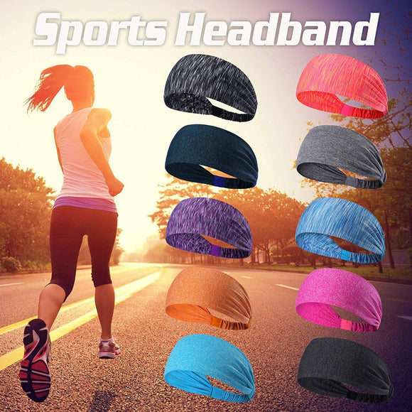 Yoga Sport Athletic Workout Headband-Sunshine's Boutique & Gifts