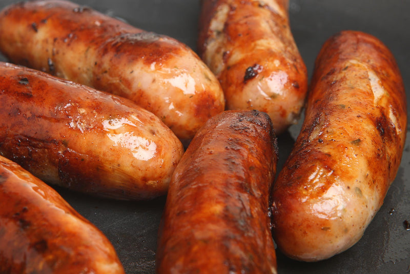 Youngs farm produce sausages