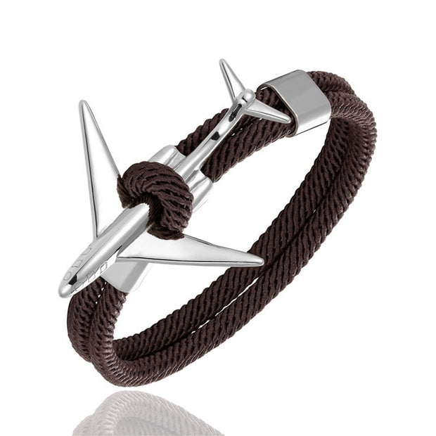 Steel light aircraft Bracelet