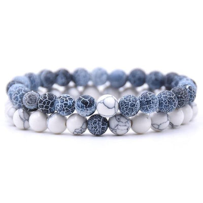DEEP BLUE DISTANCE BRACELETS