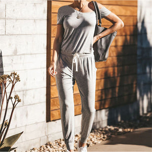Off Shoulder Long Jumpsuit